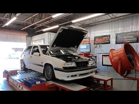 Volvo 850R Gets Down On The Dyno (s)