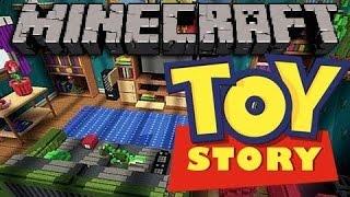 Прохождение карт в Minecraft Machinima ( сериал): ToyStory2. История игрушек 2. Серия 2.