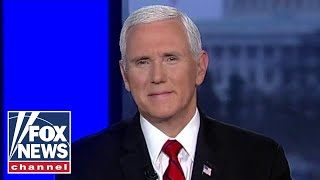Pence reacts to Pelosi's 'new low' at the State of the Union