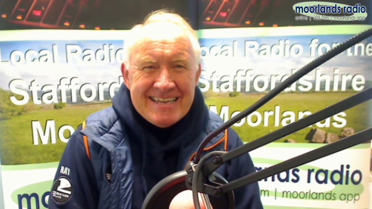 Ray Perry - Moorlands Radio Interview 31/10/19