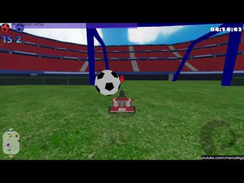 SuperTuxKart - 30 minutes of football (soccer)