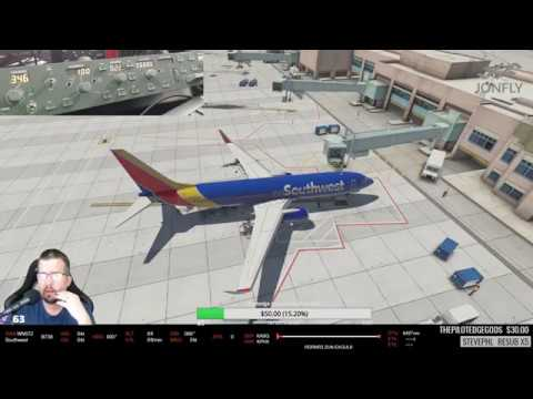 Pilotedge - SouthWest Ops - KABQ to KPHX Group Flight - Zibo 737 X-Plane 11
