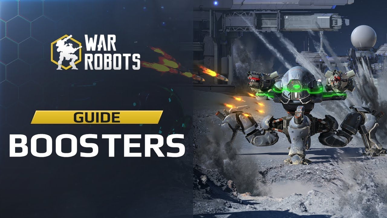 War Robots BOOSTERS ???? how to EARN, OBTAIN & USE them! guide WR update 4.0