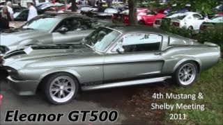1967 Mustang Shelby GT500 Eleanor 408ci