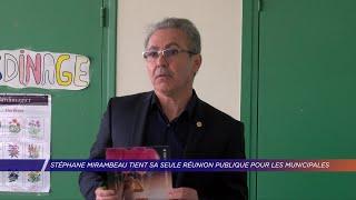 Yvelines | Stéphane Mirambeau tient sa seule réunion publique pour les Municipales