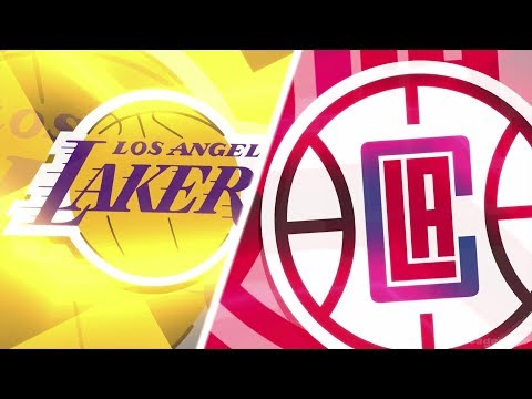NBA 2K18 Gameplay - Los Angeles Lakers vs Los Angeles Clippers