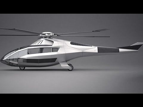 Bell unveils concept helicopter with radical shape changing blades