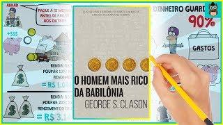 COMO FICAR RICO | O HOMEM MAIS RICO DA BABILÔNIA | George Clason | Resumo Animado