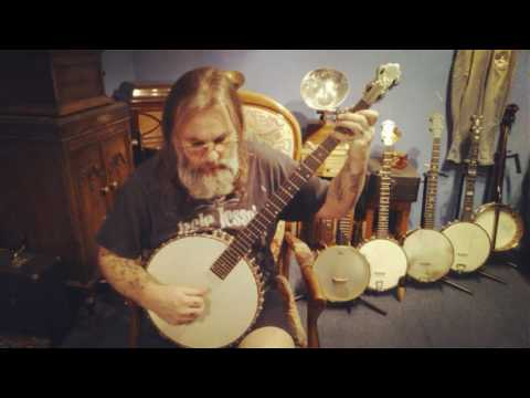 "Funeral March ""Frank.B.Converse"" Analytical Method Banjo 1886..."