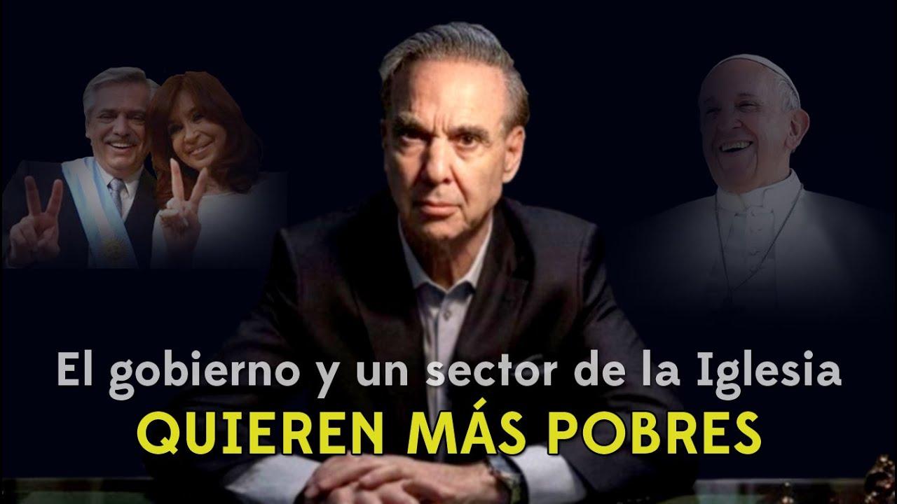 El gobierno y un sector de la Iglesia QUIEREN MÁS POBRES  | #PichettoConElPresto