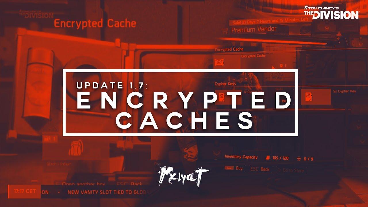 how to get encrypted cache key destiny 2
