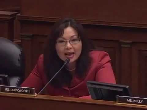 "Rep Tammy Duckworth Scolds IRS Contractor Braulio Castillo for ""gaming"" veterans Benefits Program!"