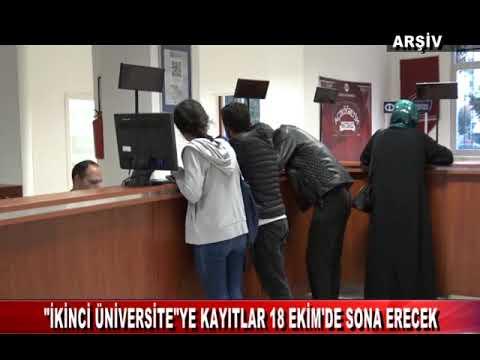 """""""İKİNCİ ÜNİVERSİTE""""YE KAYITLAR 18 EKİM'DE SONA ERECEK (12.10.2019)"""
