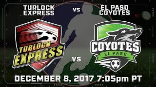 Turlock Express vs El Paso Coyotes thumbnail
