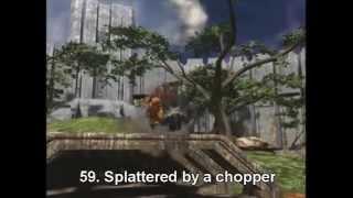 100 ways to die in Halo 3 360p