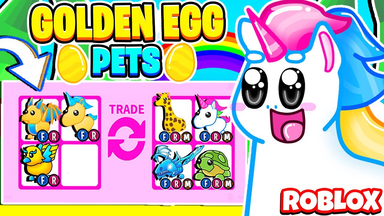 What People Trade For A GOLDEN Egg Pet in Roblox Adopt Me! Adopt Me Trading