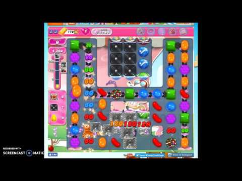 Candy Crush Level 2296 help w/audio tips, hints, tricks
