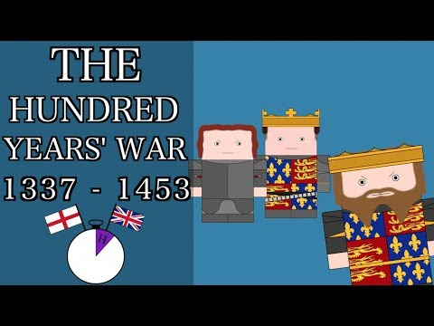 Ten Minute English and British History #15 - The Hundred Years