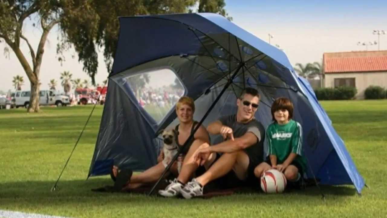71da214270fb Review - Sport-Brella XL Portable Sun and Weather Shelter Umbrella - YouTube