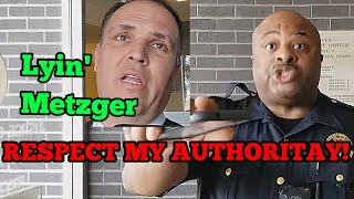 I can't find the law, I'm just telling you to obey me - Judge Bill Metzger