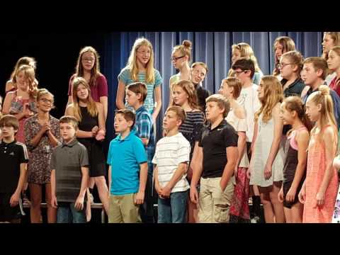 Sterling Grade School spring concert 2017
