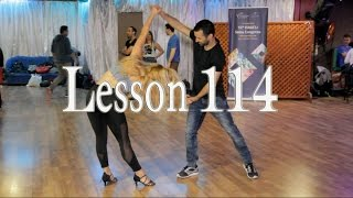 "Tzvika and Liron Bachata Master Lesson 114 ""Baila Conmigo"""