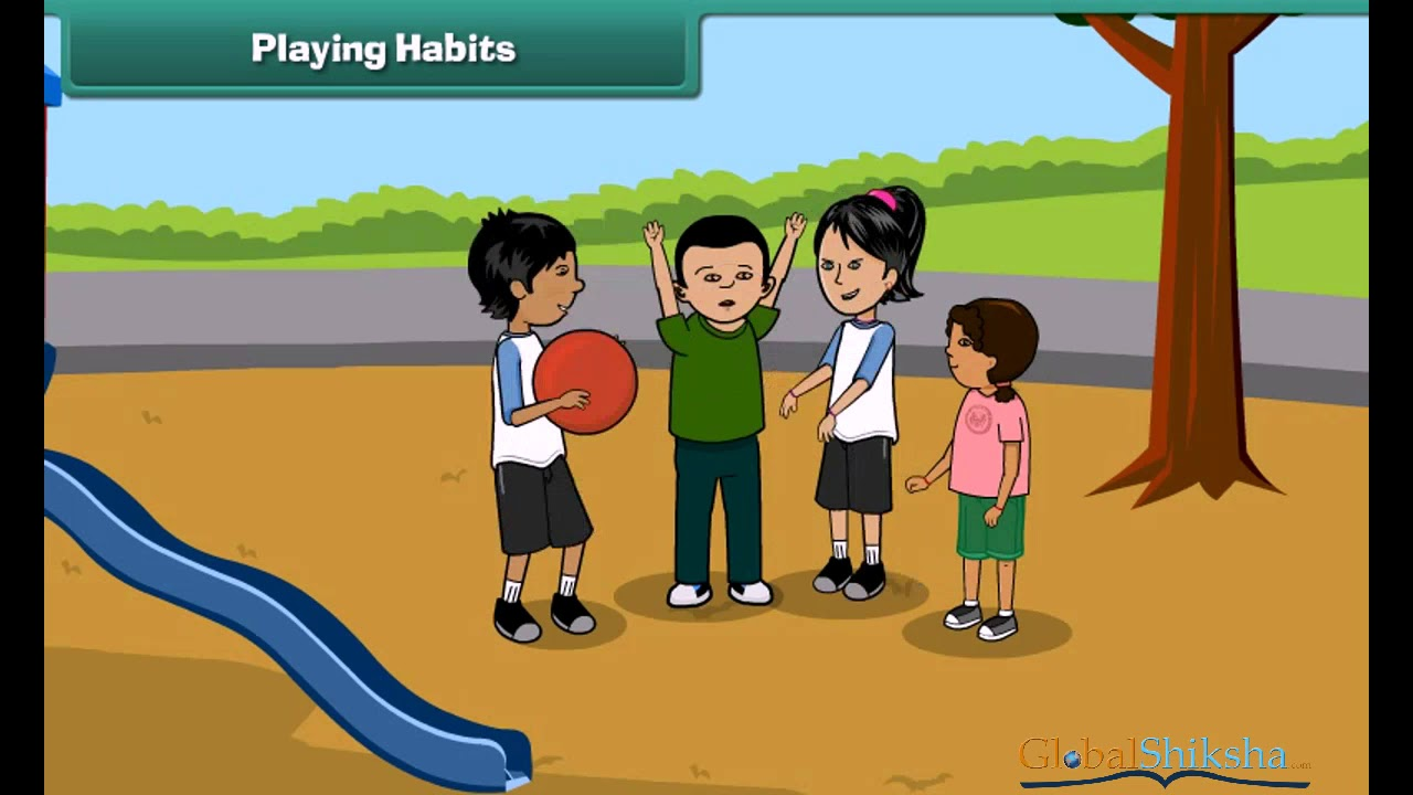 Class 2 EVS - Good Habits   Good Manners in Everyday Life For Kids - YouTube [ 720 x 1280 Pixel ]