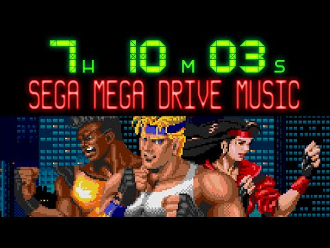 Over 7 hours of SEGA Mega Drive / Genesis music