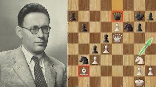 Botvinnik crushes Capablanca with an Anti-engine Move