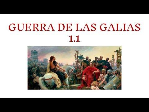 Guerra de las Galias 1.1: Descripción de la Galia y sus habitantes from YouTube · Duration:  16 minutes 36 seconds