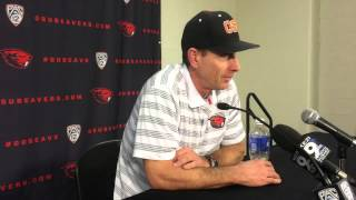 Oregon State Beavers coach forecasts season with young baseball team