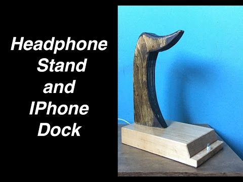 Headphone Stand and iPhone Dock!
