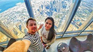 Бурдж Халифа-самое высокое здание в мире. 148 этаж. Дубай 2020