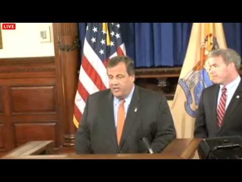 Christie announces Jeff Chiesa as the replacement for late Sen. Lautenberg