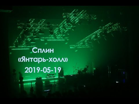 Сплин Live (Светлогорск Янтарь-холл) 2019-05-19