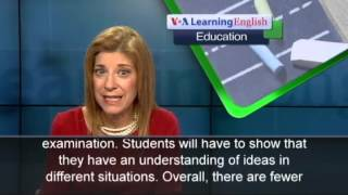 Repeat youtube video The Education Report: The New SAT Test Has Arrived