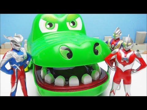 Ultraman Zero Tiga Super Itaiwani Bite Dokkiri Action Game ...