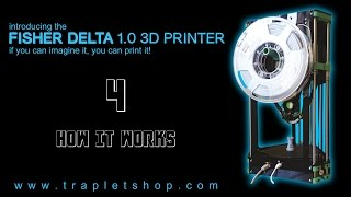 Fisher Delta 3D Printer - 4: How it Works