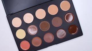 opv lashes soho cream contour palette swatches