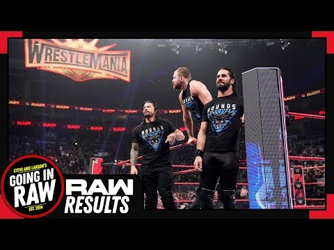 WWE Raw Review & Full Results | The Shield Says Goodbye | Going In Raw