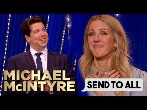 Ellie Goulding Receives Heartfelt Lyrics In Surprising Send To All! | Michael McIntyre