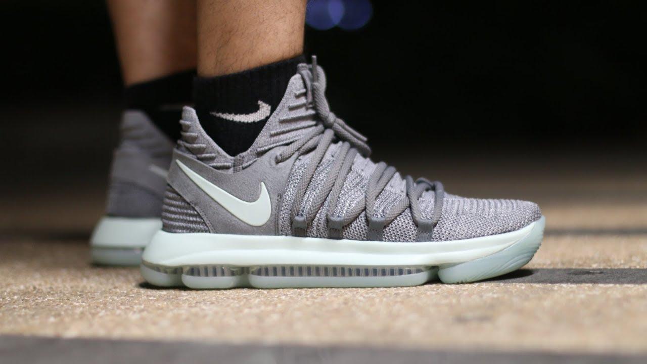 cadbfee2c4f80 Nike KD 10 球鞋實戰感受Performance Review YouTube