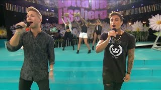 Samir & Viktor - Saxofuckingfon - Lotta på Liseberg (TV4)