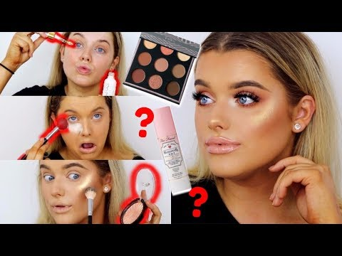 FULL FACE OF NEW MAKE UP/FIRST IMPRESSIONS!   Rachel Leary