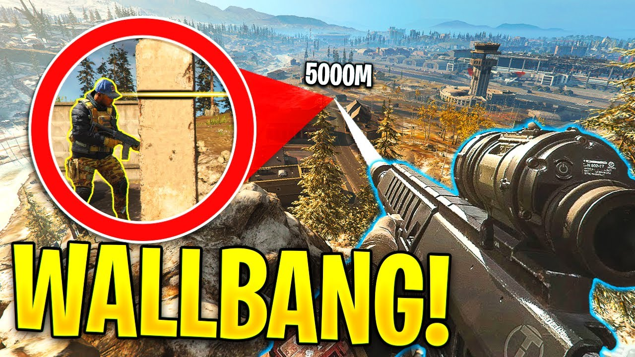 WARZONE: *WORLD RECORD* LONGEST WALLBANG SNIPE EVER! - Warzone Impossible & Lucky Moments #1