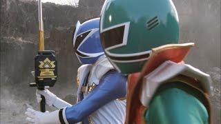 Power Rangers Super Samurai - Power Rangers vs Master Xandred Round 1