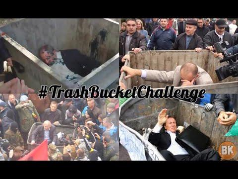 #TrashBucketChallenge Lands Ukraine Politicians in Dumpsters