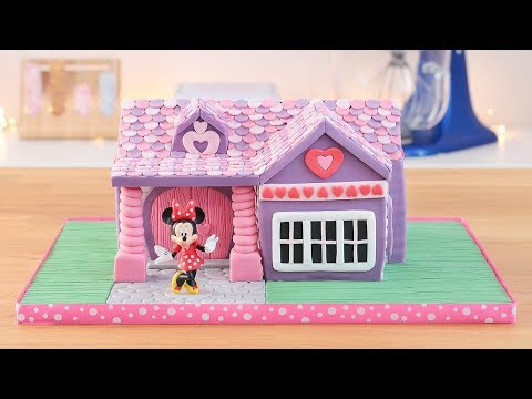 Minnie Mouse's House Cake  Tan Dulce