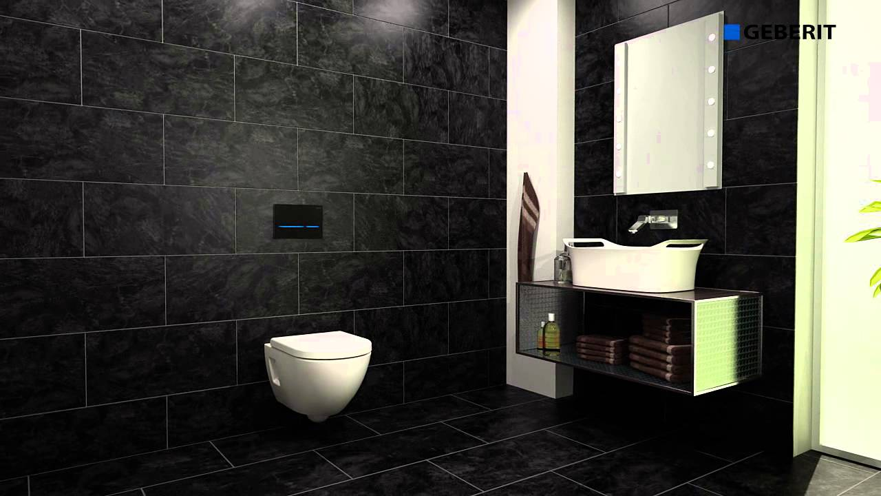 Praxis Geberit Sigma 80 Touchless Sensor Flush Operation