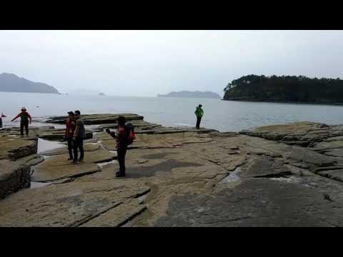 경남 고성 상족암 수식동굴